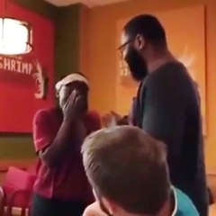 Man Surprises Popeyes Employee with Tuition