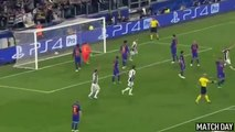 Giorgio Chiellini Header Goal - Juventus vs Barcelona 3-0 - Champions League 11⁄04⁄2017 HD
