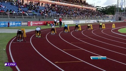 2016 CARIFTA GAMES - SADA WILLIAMS BARBADOS GIRLS UNDER-20 200 (DAY 3 SESSION 6)
