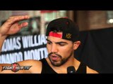 "Victor Ortiz ""We aint going 12! Im not trying to go 12 with Berto! He talks too much!"""