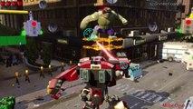 Lego Marvels Avengers Hulk-Buster VS Hulk 'Avengers Age of Ultron'