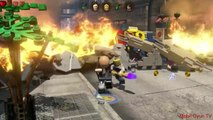 Lego Marvels Avengers Save the Civilians from Loki's Chitauri Army 'The Avengers'