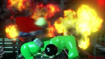 Lego Marvels Avengers Thor Defeats Hulk 'The Avengers'
