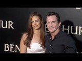 "Jeff Probst & Lisa Ann Russell ""Ben-Hur"" Los Angeles Premiere Red Carpet"