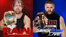 WWE Superstars Shake Up 2017 Results RAW & SmackDown LIVE (Draft 2017)