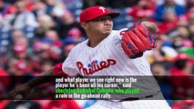 An inning later, Cabrera drew a walk after jawing with Edubray Ramos, the Phillies reliever off whom Cabrera hit a