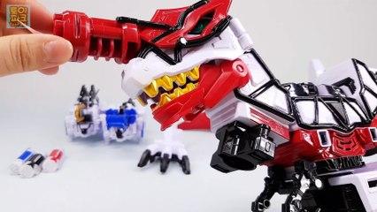 Power Rangers Dino Charge Kyoryuger DX Brave Tyranno King Dinosaurs korea ver Robot 파워레인저 다이노포스 브레이브 DX티라노 킹 VS DX티라노 킹
