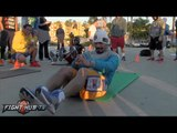 Pacquiao Bradley 3- Manny Pacquiao COMPLETE Morning Workout video- Shadow Boxing/Abs