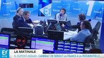Syrie, politique étrangère, programme: Nicolas Dupont-Aignan répond aux questions de Fabien Namias