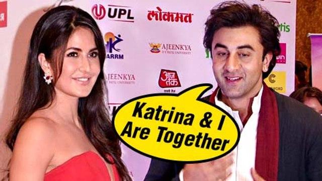 Ranbir Kapoor Says, 'Katrina Kaif And I Are Together' | BREAKING NEWS | Jagga Jasoos