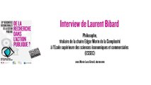 RIGP 2017 : Interview du philosophe Laurent Bibard