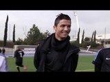 Cristiano Ronaldo en entraînement pour PES 2013 (Partie 1)