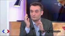 """C à Vous : Florian Philippot agacé par les """"délires"""" d'Anne-Sophie Lapix"""