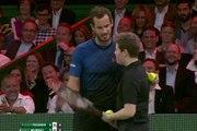 Andy Murray fait jouer sa balle de match face à Federer à un ramasseur de balles