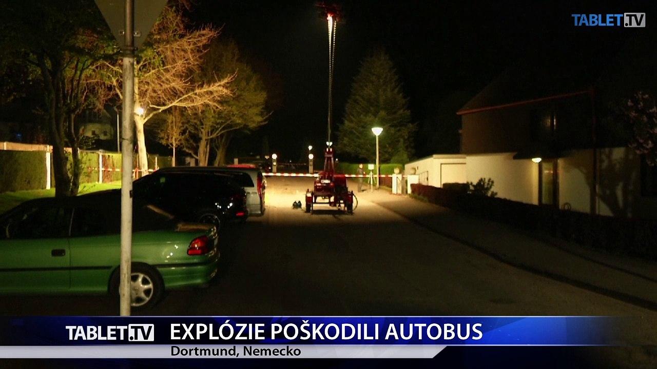 Terčom troch výbuchov boli futbalisti nemeckej Borussie Dortmund
