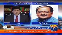 Hamid Mir Gives reply to Indian Journalist during Live