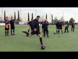 Cristiano Ronaldo en entraînement pour PES 2013 (Partie 2)