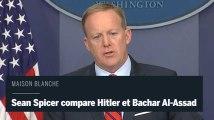 Le porte-parole de la Maison Blanche compare Hitler et Bachar Al-Assad