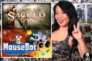Mousebot vs Demons Must Die vs Sacred Legends