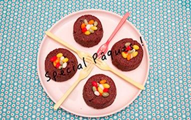 """Spécial Pâques ! """"Le Nid"""" (gâteau au chocolat)"""