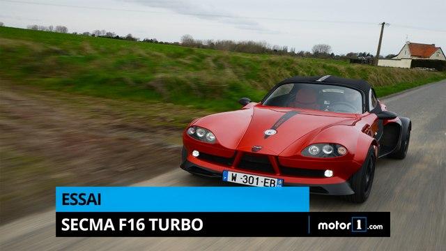 Essai - Secma F16 Turbo