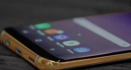 Así es el Samsung Galaxy S8 de oro