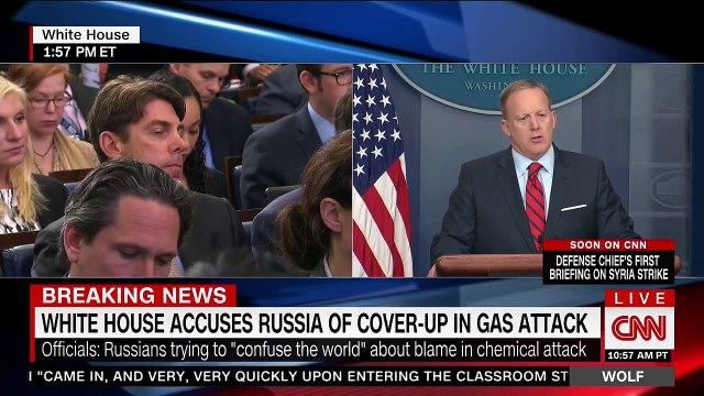 Sean Spicer- Hitler didn't use chemical weapons