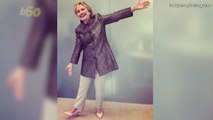 Hillary Clinton Models Heels Dubbed 'The Hillary' for Katy Perry