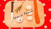 """Spécial Pâques ! """"Les œufs lapins"""" (carottes/romarin)"""