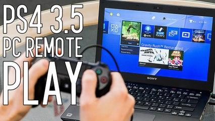 PS4 3.5 päivitys tuo PC etäpelaamisen