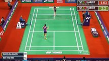 2017 YONEX SUNRISE India Open R32 WS Carolina MARIN vs KIM Hyo Min