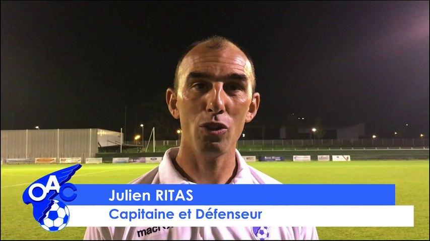 [CFA 2 - 21ème J] OAC - SCT: La réaction de Julien Ritas