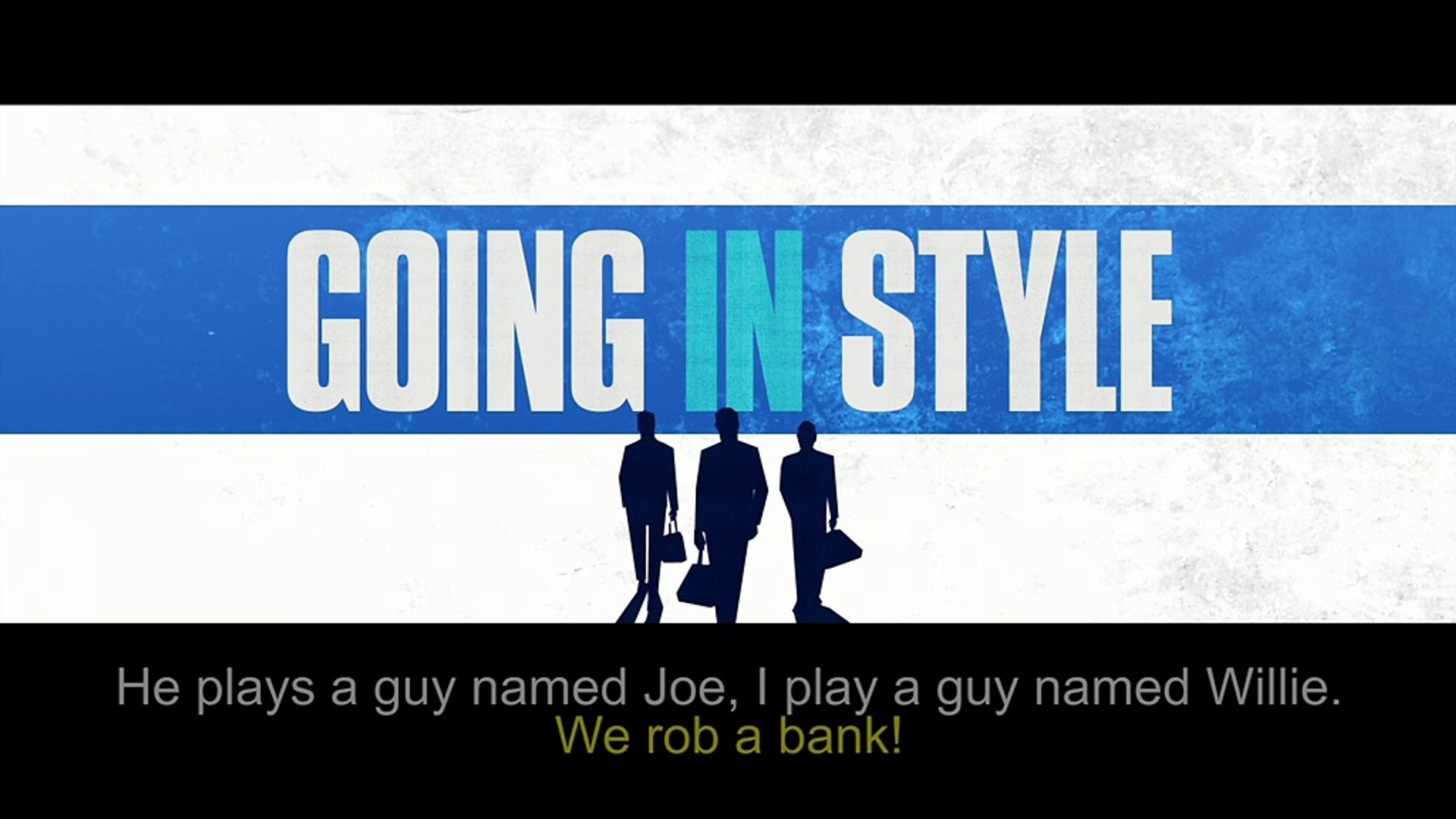 Going In Style - Social - Exclusive Teaser Interview with Morgan Freeman & Michael Caine