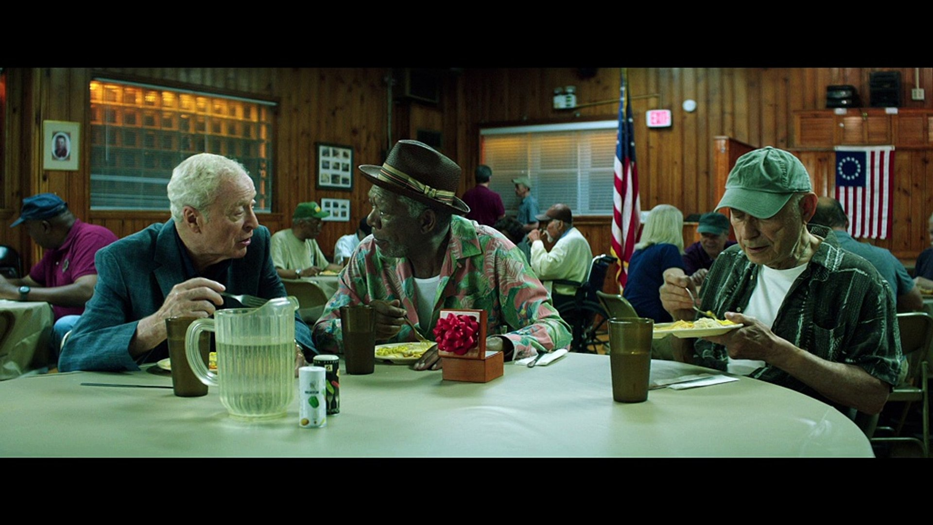 Going In Style - Exclusive Interview with Morgan Freeman & Michael Caine