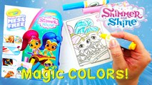 Color Wonder Shimmer and Shine Magical Coloring Travel Set | Evies Toy House