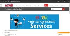 VA Accounts – eBay Virtual Assistant - Ebay dropshipping