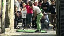 Compétition de Street Golf à Quimper, Kemper Urban Golf