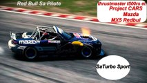 Project CARS Mazda MX5 Red bul Et Thrustmaster T500 Rs ( Sa Turbo Sport )