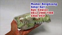 0812 2980 7488 (Telkomsel), Masker Putih Bengkoang