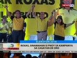 BT: Roxas, sinamahan si PNoy sa kampanya sa Cagayan de Oro
