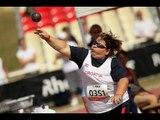 Athletics -  women's shot put F42/44 final  - 2013 IPC Athletics World Championships, Lyon (extract)