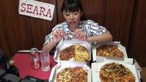大食いピザ32切れ 仕事終わりにピザを dデリバリーOLが飲みながら語る夜ご飯