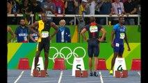 Rio Olympics 2016: Usain Bolt wins hat-trick 100m gold