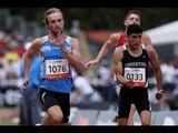 Athletics - men's 100m T35 final - 2013 IPC Athletics WorldChampionships, Lyon