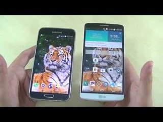 Samsung Galaxy S5 vs LG G3 - PARTE 2 (Comparativo)
