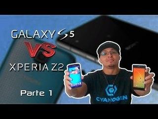 Samsung Galaxy S5 vs Sony Xperia Z2 (Comparativo) PARTE 1