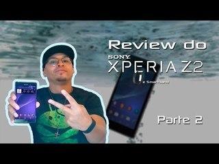 Review do Sony Xperia Z2 e Smartband - PARTE 2