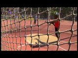 Athletics -  Mohamed Ramadan - men's discus throw F37/38 final  - 2013 IPC Athletics World C...