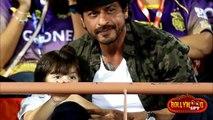 Shahrukh Khan & CUTE AbRam Watches KKR Match In Rajkot - IPL 2017 - HUNTING WORLD