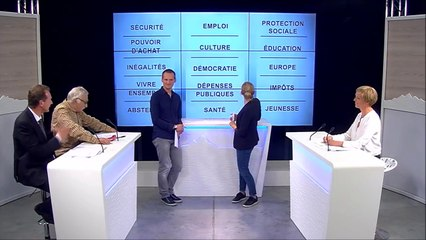"""débat présidentielle 8 Mont Blanc : interview sur le mot-clé """"dépense publique"""""""
